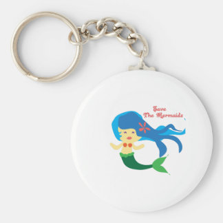 Save The Mermaids Key Chains