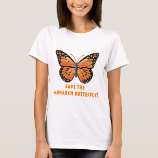 Save the Monarch Butterfly T-Shirt