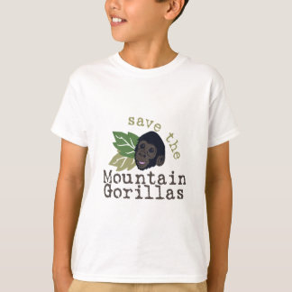 Save The Mountain Gorillas T-Shirt