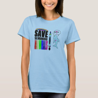 SAVE THE NARWHALS!!! *BIG* T-Shirt