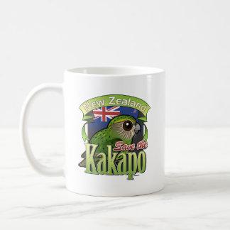 Save the New Zealand Kakapo Coffee Mug