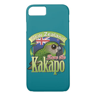 Save the New Zealand Kakapo iPhone 7 Case