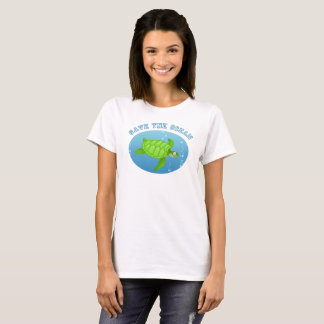 Save the Ocean Sea Turtle T-Shirt