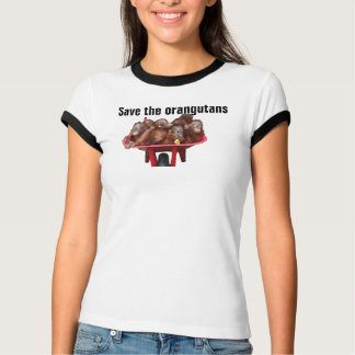 Save the Orangutans Endangered Species T-Shirt