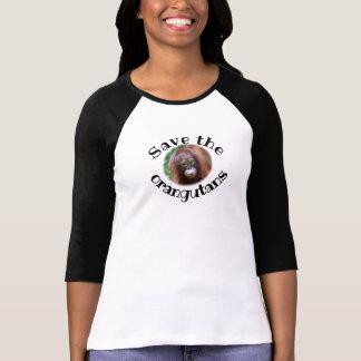 Save the Orangutans Great Ape Conservation T-Shirt