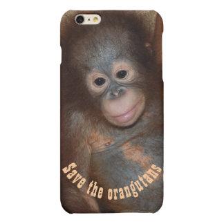 Save the Orangutans Jungle Wildlife iPhone 6 Plus Case