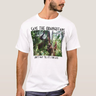 Save the Orangutans Wildlife Rescue T-Shirt