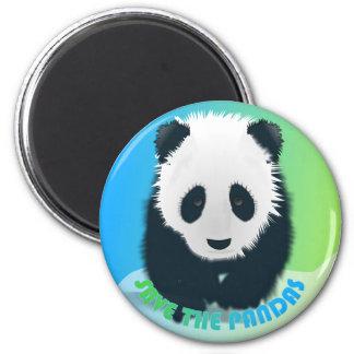 Save the Pandas Magnet