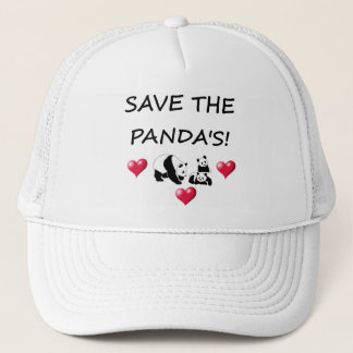 Save The Panda's! Trucker Hat