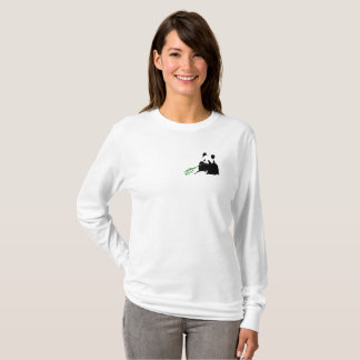 Save The Pandas Woman LongSleeve Shirt