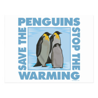 Save the Penguins Postcard