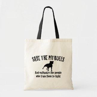 Save The Pitbulls Tote Bag