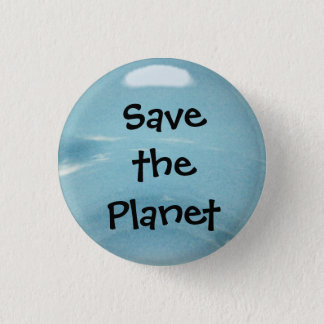 Save the Planet 3 Cm Round Badge