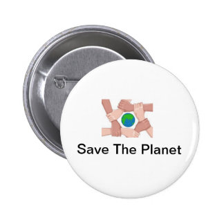 Save The Planet Buttons