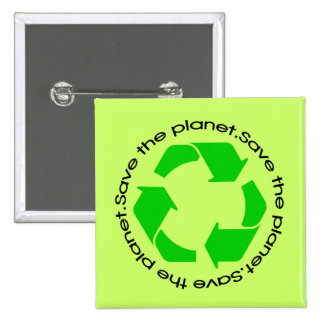 Save the Planet! Button