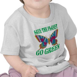 Save The Planet Go Green Tshirt
