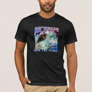 Save the Planet, No Palin T-Shirt