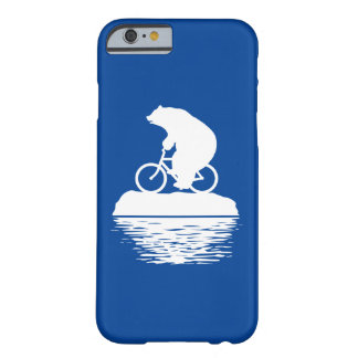 Save the Planet: Polar Bear Bicycle iPhone Case