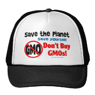 Save the Planet, Save Yourself: Don't Buy GMOs! Cap