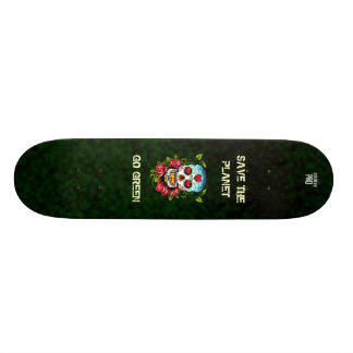 SAVE THE PLANET SKATE BOARD DECK