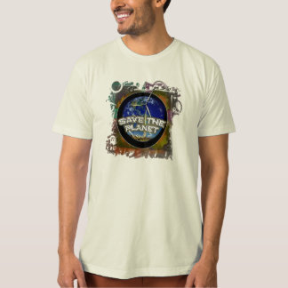 save the planet... t shirts
