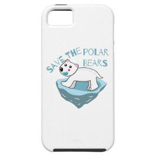 Save The Polar Bears iPhone 5 Covers