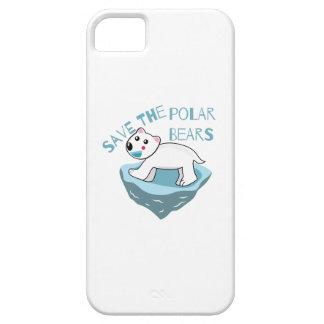 Save The Polar Bears iPhone 5 Case