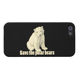 Save the Polar Bears Cover For iPhone 5