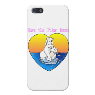 Save the Polar Bears Cases For iPhone 5