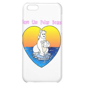 Save the Polar Bears iPhone 5C Cover