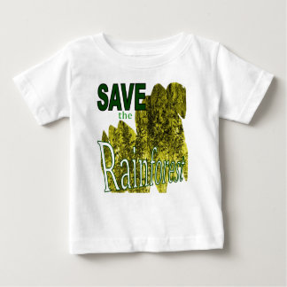 Save the Rainforest kids Baby T-Shirt