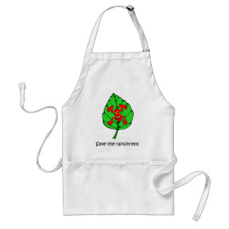 Save the rainforest standard apron
