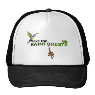 Save the Rainforests Cap