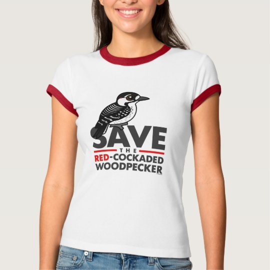 Save the Red-cockaded Woodpecker T-Shirt