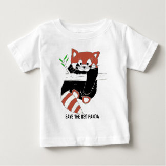 Save the Red Panda aka FireFox Baby T-Shirt