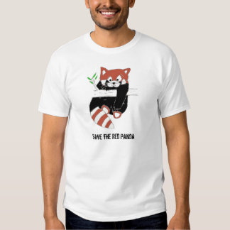 Save the Red Panda aka FireFox Shirt