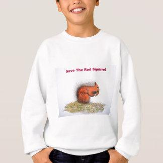 Save the red squirrel sweatshirt