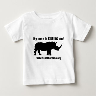 Save the Rhino Baby T-Shirt