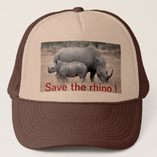 Save The Rhino Hat