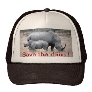 Save The Rhino Hat