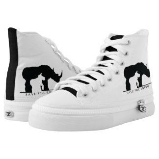 Save the Rhino High Tops