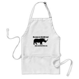 Save the Rhino Standard Apron