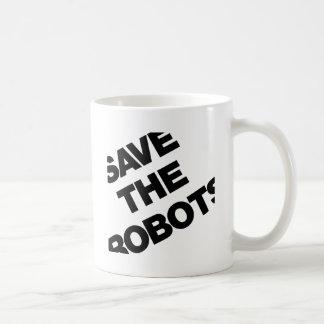 Save The Robots After-Hours Club New York City Basic White Mug