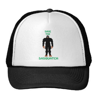 SAVE THE SASQUATCH TRUCKER HATS