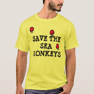Save The Sea Monkeys T-Shirt