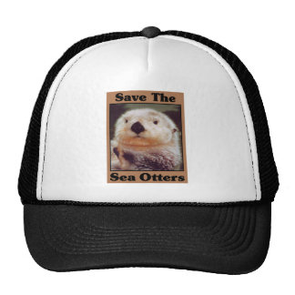 Save the Sea Otters Cap