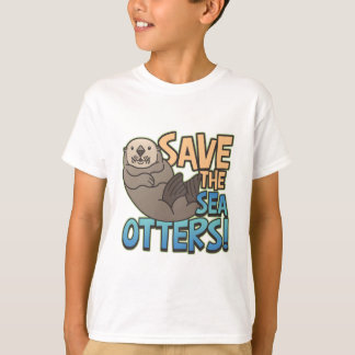 Save The Sea Otters T-Shirt