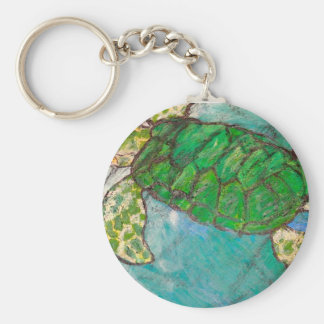 Save The Sea Turtle's Key Ring