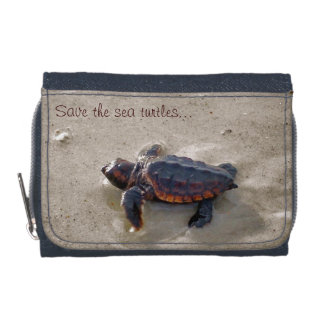 Save the sea turtles! wallet