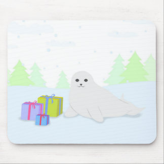 Save the Seals Mouse Mat